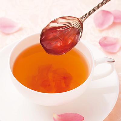 rose jam tea