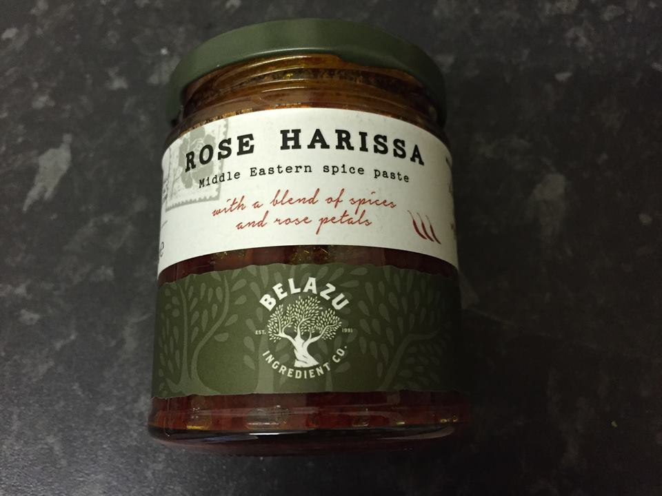 rose spicy paste