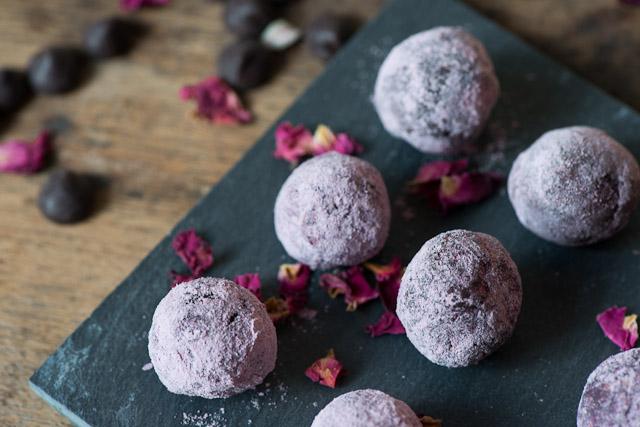 rose choco truffle