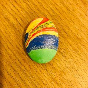 Ebru magnet(Oval)