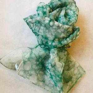 エブルオーガンジースカーフ (グリーン)